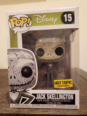 JACK SKELLINGTON funko pop #15 Nightmare for Sale in Westbury, NY