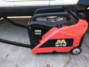 Mi-t-m inverter generator 3000watts for Sale in Pine Lake, GA