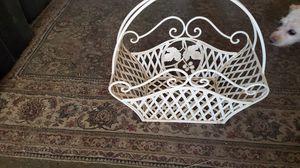 Metal Basket Decoration for Sale in Phoenix, AZ