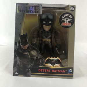 DC COMICS DESERT BATMAN Die Cast Metal Figure Jada Toys M16 for Sale in Orlando, FL