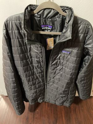Patagonia Men's Nano Puff Jacket - Gray - Large - new with tags for Sale in Los Angeles, CA
