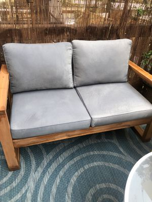 Outdoor sofa loveseat and cover for Sale in Washington, DC