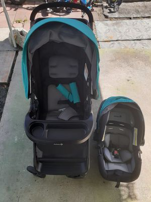 Coche de bebe con silla baby stroller with car seat for Sale in Miami, FL