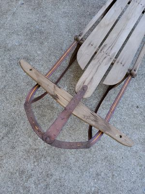 Vintage wooden sleigh for Sale in Lexington, KY