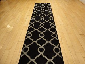 Black Hallway Runner Rug 2X8 Carpet for Sale in Wheaton, MD