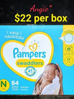 Pampers Swaddlers Size Newborn for Sale in Lakewood,  CA