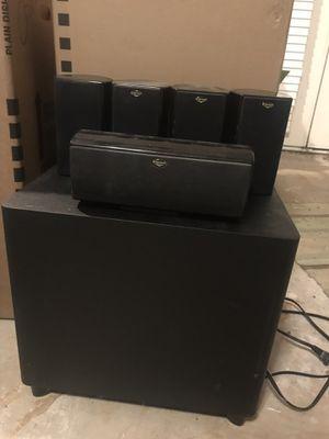 Klipsch HD Theater 500 5.1 speaker system for Sale in Austin, TX