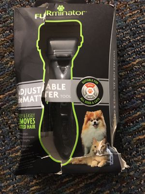 New furminator deshedding tool for all cats and dogs for Sale in Clarksburg, MD