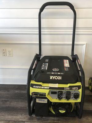 Ryobi Easy Start Generator for Sale in Manassas, VA