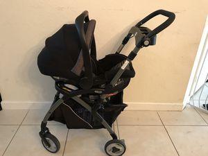 Snugrider elt stroller and snugride 35 car seat with car base for Sale in Cutler Bay, FL