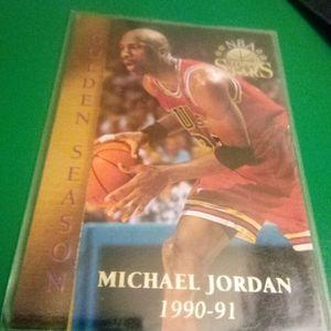 1996 Topps Stars Golden Season Michael Jordan Basketball Card#74 for Sale in Redmond, OR