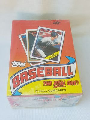 Topps baseball cards 1988 sealed boxes pack new for Sale in South Gate, CA