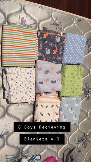 Boys receiving blankets now $5 for Sale in Leeds, AL