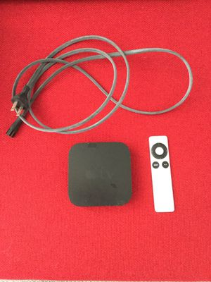 APPLE TV 3rd Generation Gen3 A1427 + remote + power cord - Works Great! for Sale in Santa Monica, CA