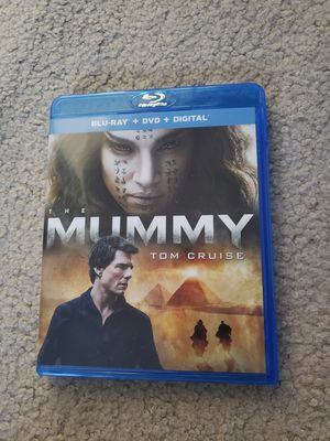 The Mummy tom cruise blu-ray dvd for Sale in Grapevine, TX