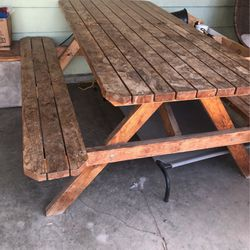 Douglas fir picnic Table for Sale in Newberg, OR