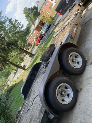 Car trailer with extra tire and straps for Sale in Camp Springs, MD