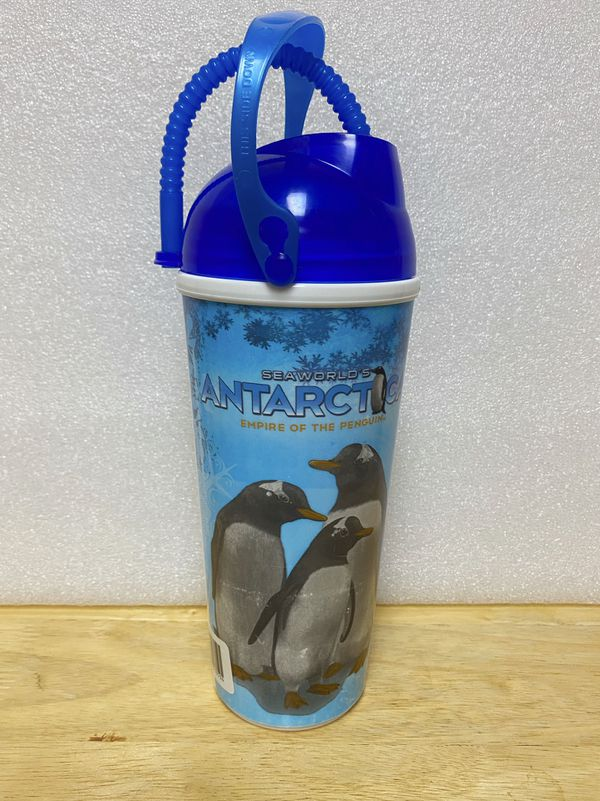 Sea World Reusable Plastic Cup
