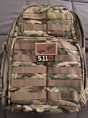 5.11 rush 24 backpack for Sale in Chesterfield, NJ