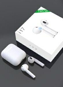 New in box Generic Apple style ear pod earphone Bluetooth headset rechargeable with charging case like airpods for Sale in Montebello, CA