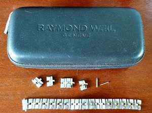 Bracelet links for ladies Raymond Weil watch, #9630 for Sale in Arlington, VA