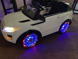 White Rover SUV Electric Car for Sale in Perris, CA