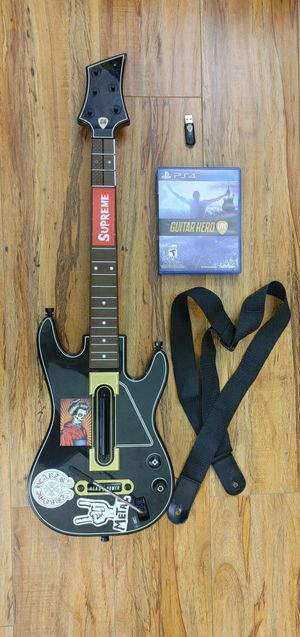 Ps4 guitar hero live for sale for Sale in Los Angeles, CA