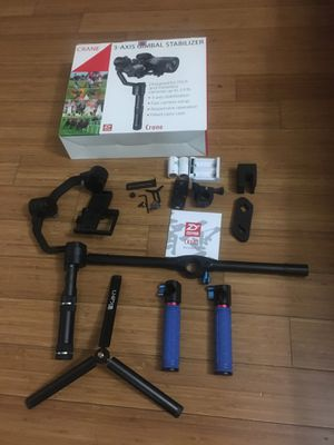 3-Axis Gimbal stabilizer and accessories for Sale in The Bronx, NY