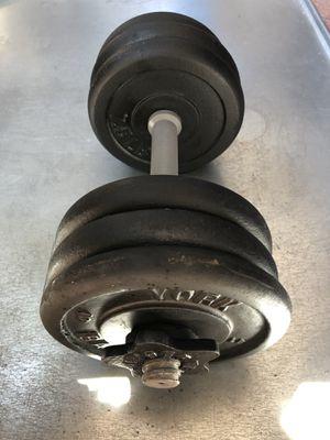 - (Adjustable Dumbbell -(45 lb) for Sale in San Jose, CA