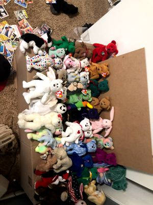 Beanie babie lot 40+ RARE : PLEASE READ DESCRIPTION for Sale in Wildomar, CA