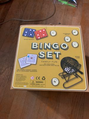 Fun sized bingo set for Sale in Middletown, MD