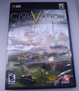 Sid Meier's Civilization PC for Sale in San Diego, CA