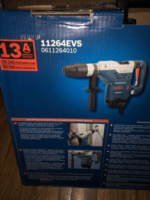 Bosch 1-5/8-in SDS-Max Keyless Variable Speed Rotary Hammer with Case for Sale in North Miami, FL