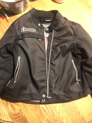 Woman's ICON motorcycle jacket for Sale in Englewood, CO