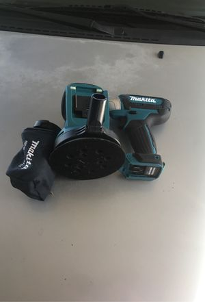 Makita 18 v sander and a Makita 12v impact wrench for Sale in CRYSTAL CITY, CA