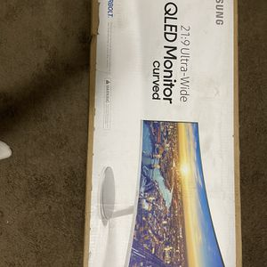 Samsung Qled Monitor Curved for Sale in Salt Lake City, UT