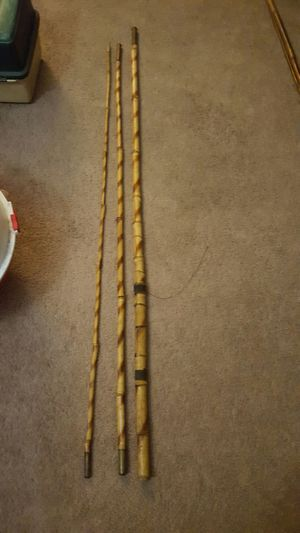 vintage bamboo fishing pole for Sale in Columbus, OH