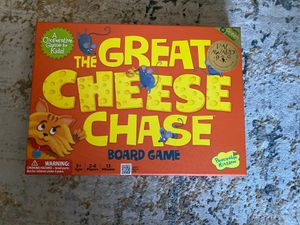 The Great Cheese Chase rare board game for Sale in Belmont, MA