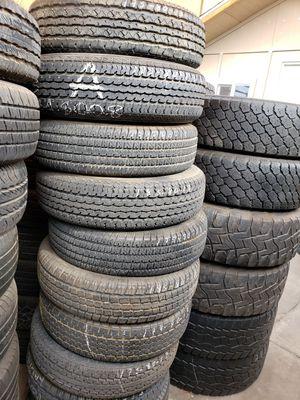 Excellent trailer tires 1758013/1858013 for Sale in Glendale, AZ