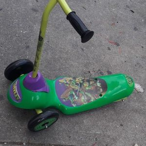 Ninja Turtle Electric Scooter For Boys For Three Years Old for Sale in New York, NY