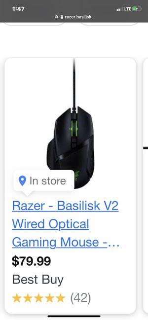 Razor gaming mouse for Sale in Fresno, CA