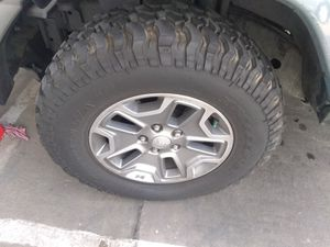 Jeep rubicon wheels for Sale in West Hollywood, CA