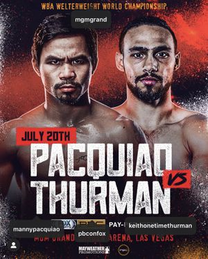Pacquiao vs Thurman boxing tickets for Sale in Las Vegas, NV