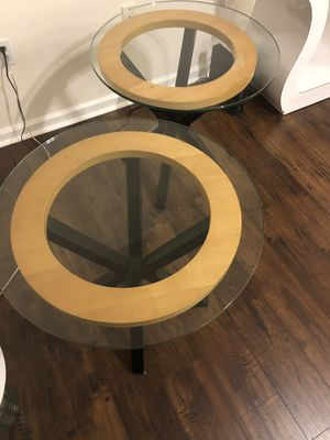 Wooden end tables for Sale in Delray Beach, FL