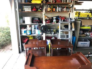 Nice wood end tables and coffee table for Sale in Lake Placid, FL