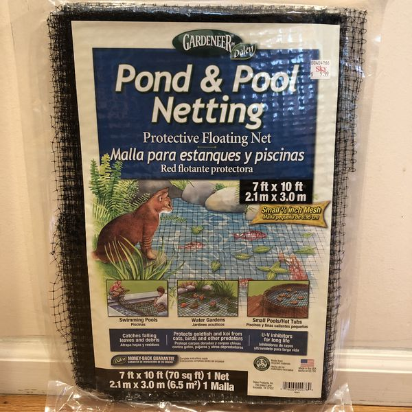 New Pond & Pool Netting. Protective Net