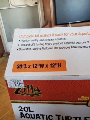 Premium quality size 20 glass aquarium for Sale in Perris, CA