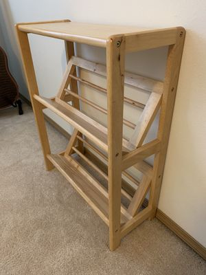 Angled bookshelves for Sale in Puyallup, WA