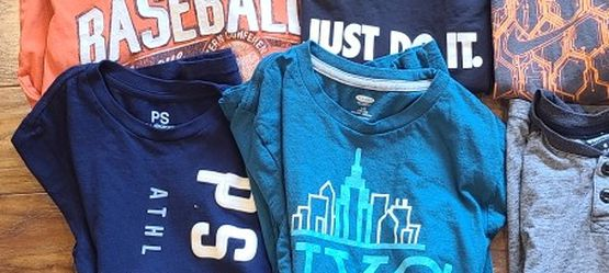 Boys Sz 10 Tshirt Lot for Sale in Madison Heights,  VA