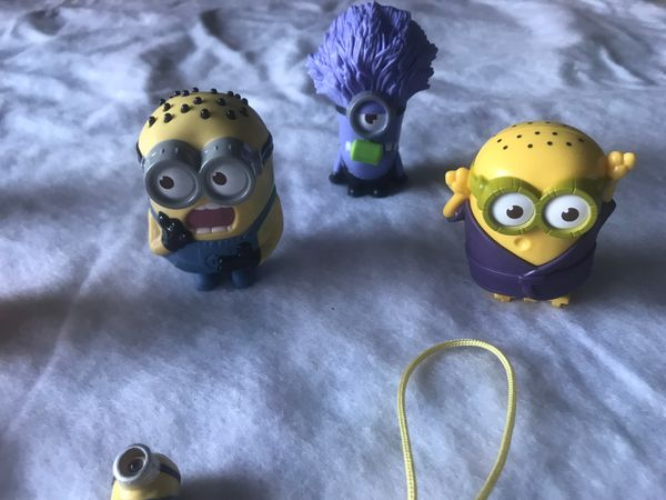 Minions all different types of minions 12 pieces together